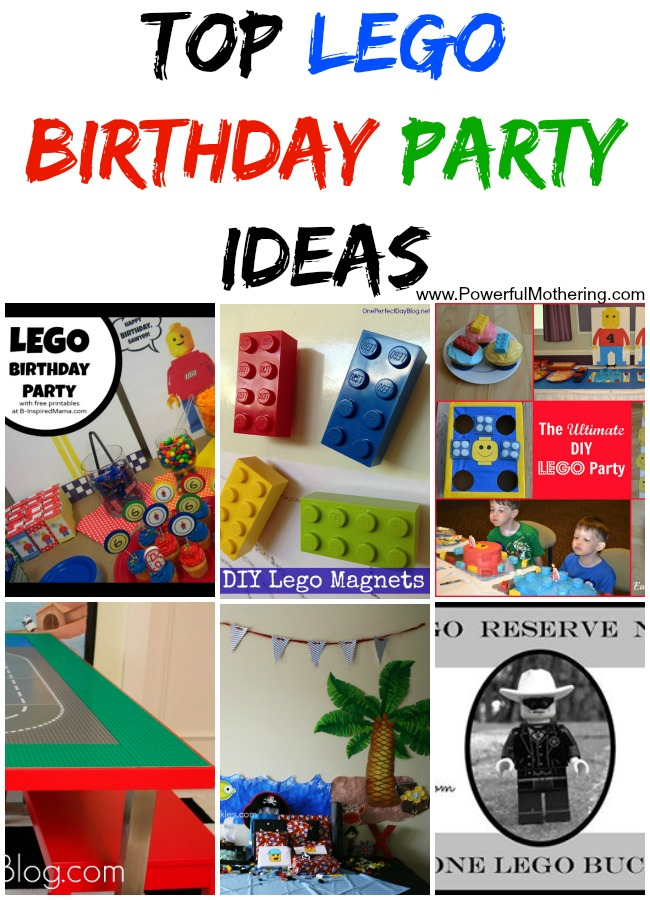 Top Lego Birthday Party Ideas