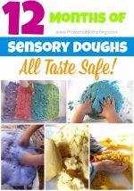 12 Sensory Doughs – All Taste Safe!