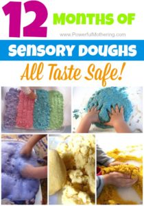 12 months of sensory doughs all taste safe