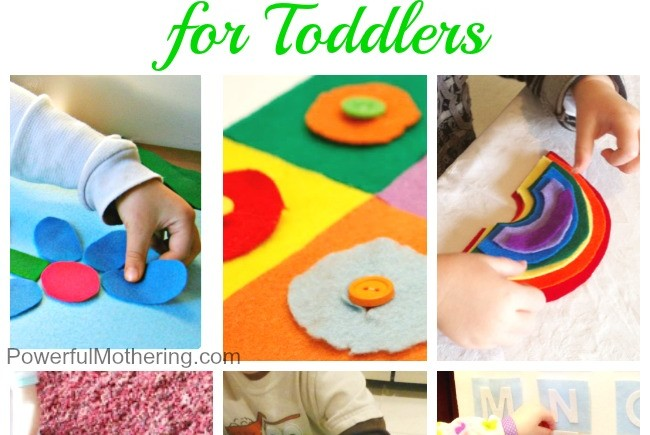 20 Ways to Learn with Felt for Toddlers