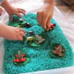 Exploring with Frogs and Sensory Play