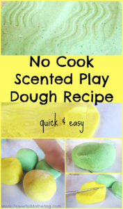 no cook play dough recipe