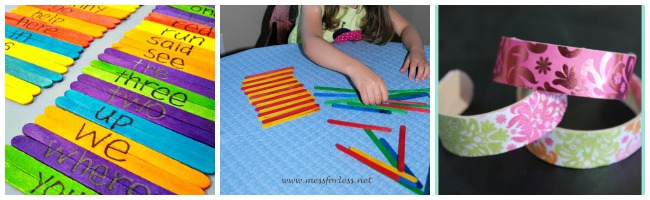 25 popsicle and craft stick ideas for toddlers and preschoolers using popsicle sticks as a learning tool ccuart Image collections
