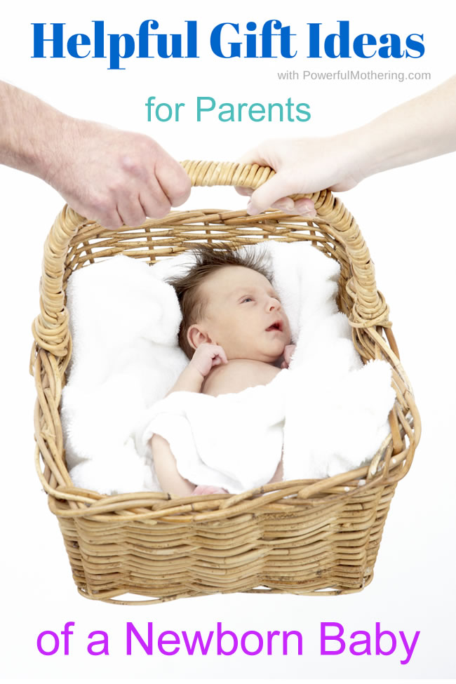 Helpful gift ideas for Parents of a Newborn Baby