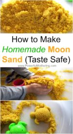 how to make moon dough at home