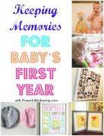 Keeping Memories for Baby's First Year