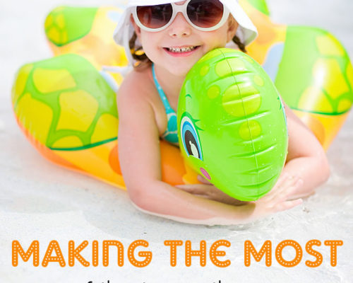 Making the Most of the Time with your Toddler at the Pool