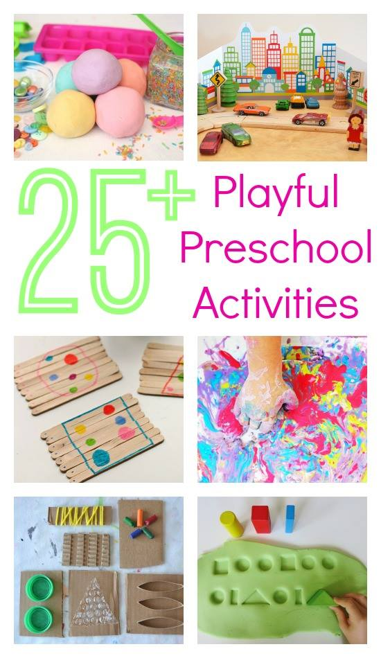 Three to Five Playful Preschool 25 plus awesome ideas