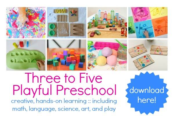 further play ideas plus tons of preschool printables three to five playful preschool kids - Learning Pages For 5 Year Olds
