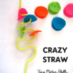 Fine Motor Skills with Crazy Straws