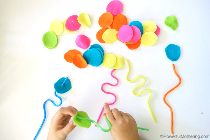 Easy Busy Bags For Toddlers