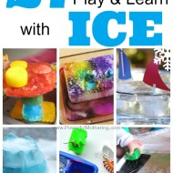 27 Ways to Play and Learn with ICE from PowerfulMothering.com