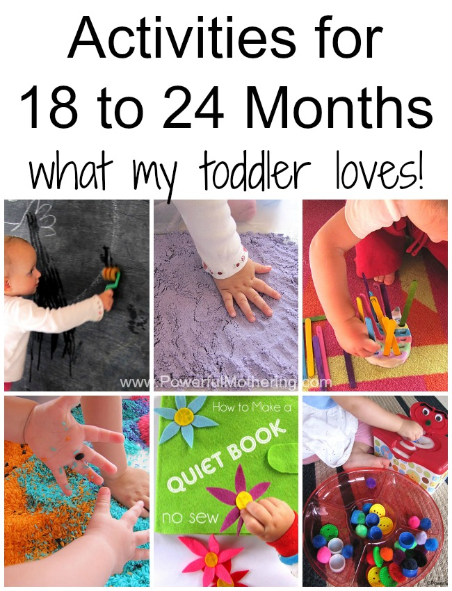 Fun simple do able activities for 18 to 24 month old toddlers activities for 18 to 24 months what my toddler loves from powerfulmothering negle Images