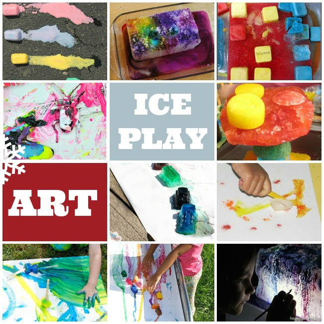 Ice play Art