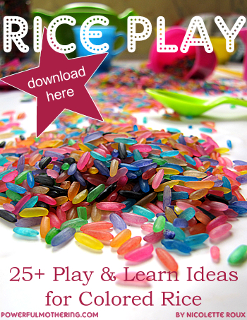 color rice ebook play ideas