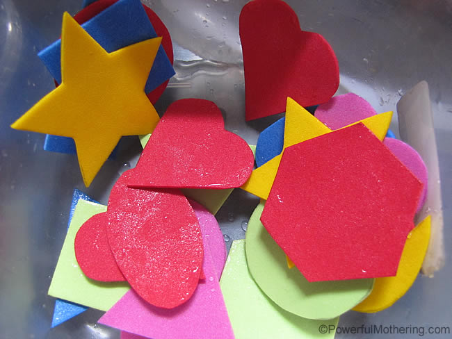 cut a variety of shapes out