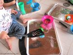 Fine Motor Skills with ICE Play for Toddlers