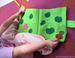 Jumping Frog Pond Home No Sew Quiet Book Page