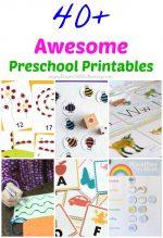 40+ Awesome Preschool Printables