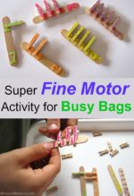 Super Fine Motor Activity for Busy Bags