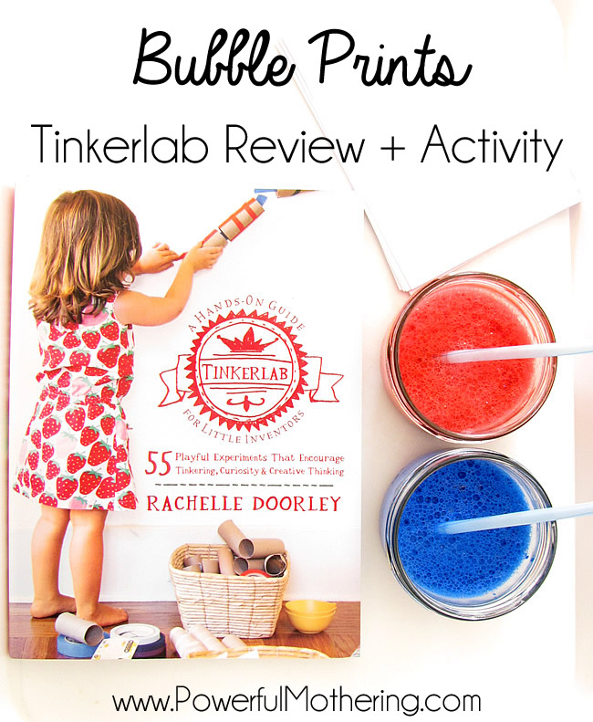 bubble printing tinkerlab review