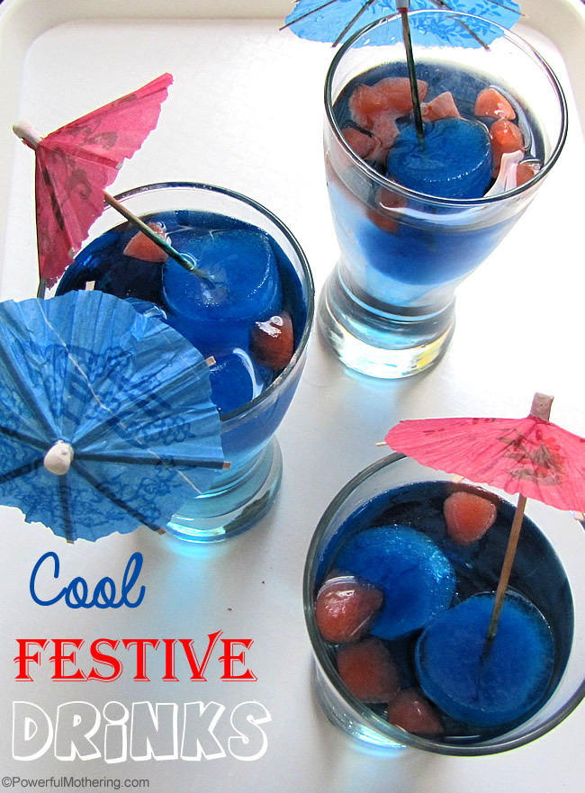 cool festive drinks