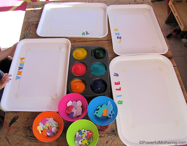 (TASTE SAFE) Homemade Finger Paint Recipe with Fine Motor Activity