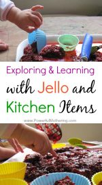 Exploring and Learning with Jello and Kitchen Items
