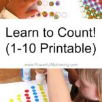 Learn to Count! (1-10 Printable)