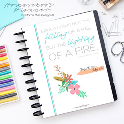 Homeschool Planner by Mama Miss Designs®