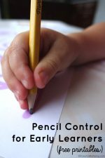 Pencil Control for Early Learners