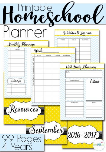 best homeschool planner