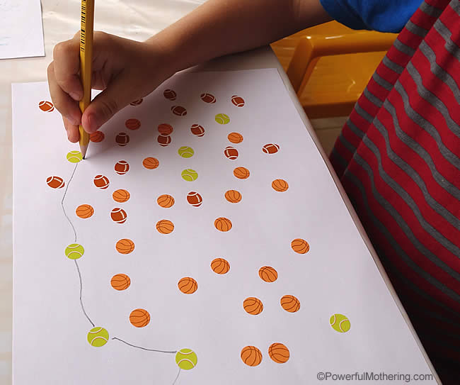 dot to dot stickers