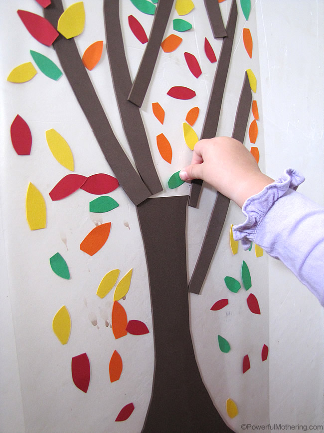 easy fine motor activity for fall