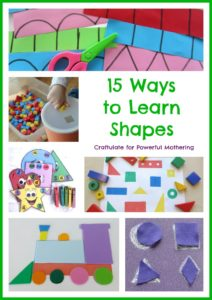 15 Ways to Learn Shapes