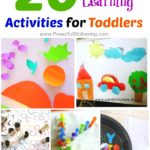 20 Easy Learning Activities for Toddlers