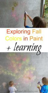 Exploring Fall Colors in Paint