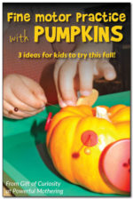 Fine Motor Skill Activities with Pumpkins