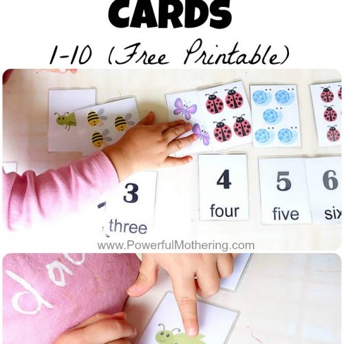 Match & Count Cards 1-10 (Free Printable)
