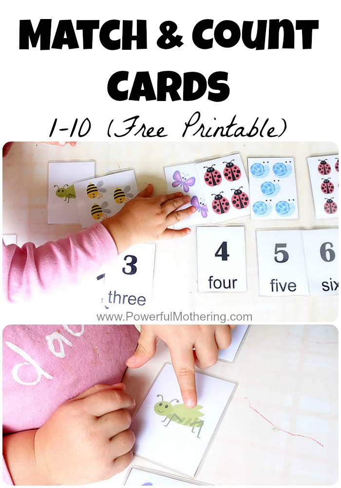 photo regarding Free Printable Numbers 1 10 named Activity Depend Playing cards 1-10 (Cost-free Printable)