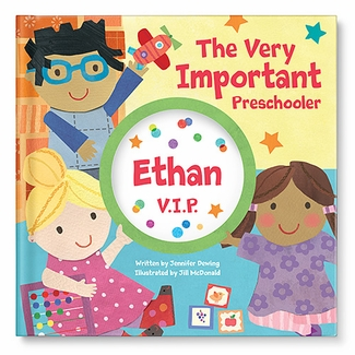 important preschooler personalized book for kids
