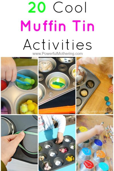 20 Cool Muffin Tin Activities from PowerfulMothering.com