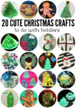 20 Cute Christmas Crafts for Toddlers