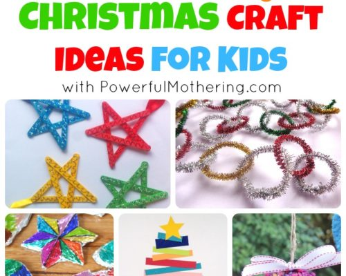 20 Easy Christmas Craft Ideas for Kids