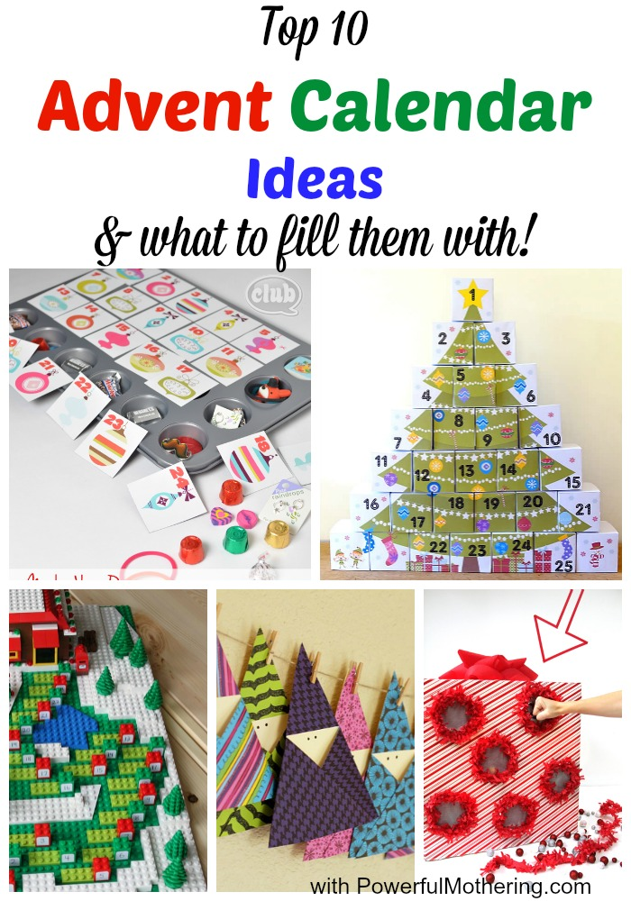 Top 10 Advent Calendar Ideas What To Fill Them With