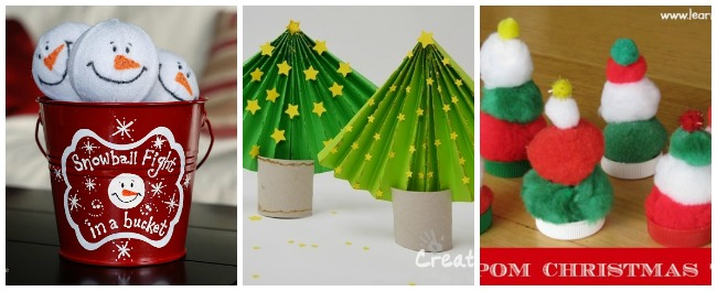 how to make a paper christmas tree simple christmas crafts pompom christmas trees