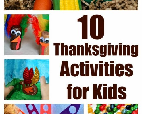 10 Thanksgiving Crafts and Activities for Kids