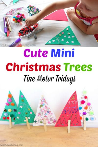 Cute Mini Christmas Trees