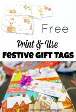 Free Print & Use Festive Gift Tags