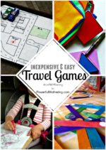 Inexpensive & Easy Travel Games for Kids